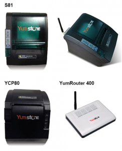 Yumstone S81 and YCP80 Thermal Printers